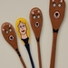 Wooden spoon puppets Goldilocks and the three Bears