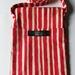 SALE! Eva crossbody bag - Red/cream stripe