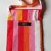 SALE! Eva crossbody bag - Red/orange/pink stripe