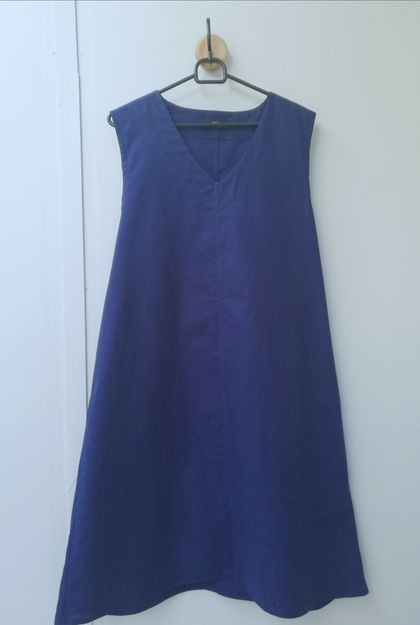 SALE! Now just $75! Blue cotton dress