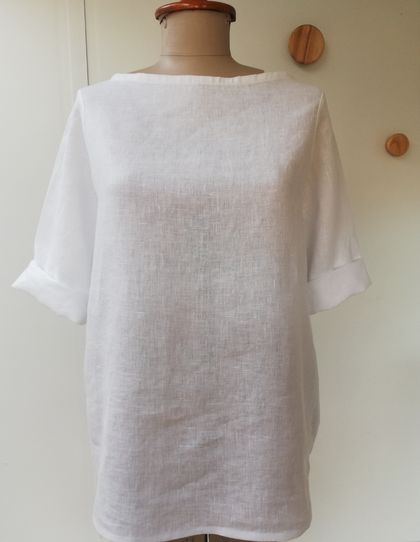 SALE! Now just $95! White linen top