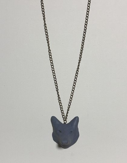Wolf Punk Necklace
