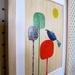 Tui - Native NZ Bird Art Print on bamboo veneer
