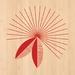 Pohutukawa Print on Bamboo Veneer