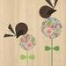 Native NZ Fantail (Piwakawaka) Print on Bamboo Veneer