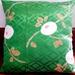 Vintage kimono silk cushion cover