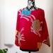 Vintage kimono silk top