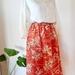 Vintage kimono skirt