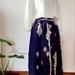 Vintage kimono silk skirt