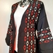 Vintage kimono silk coat