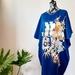 Vintage kimono silk tunic dress