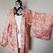 Vintage silk Shibori Haori jacket