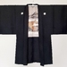 Unisex Vintage silk Haori jacket