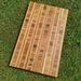 Bamboo end-grain chopping board