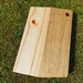 Hand made Pine serving/cheese board