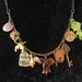 One-of-a-kind 'all or nothing' charm necklace