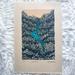 Original linocut artwork - Waterfall