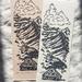 Original Linocut - Summer in the Pyrenees