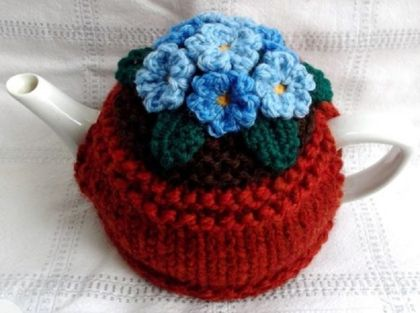 Forget-me-Not Teacosy