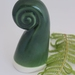 Ceramic Koru Sculpture