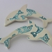 Ceramic Dolphin Wallhanging