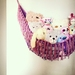 Wall Tassel Toy Hammock - custom colours
