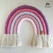 Custom Rainbow Wall Hanging - 5 Arch Large