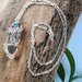 Clear Quartz Crystal Wire Wrapped Pendant