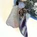 Amethyst & Rose Quartz Wire Wrapped Pendant