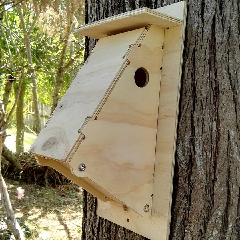 Flat Packed Birdhouse