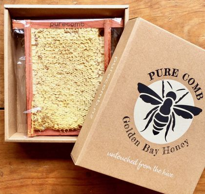 Comb Honey 500g in gift box - free shipping