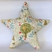 Forest Friends Star-shaped Cushion