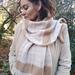 Beautiful  Silk Cashmere Merino scarf.