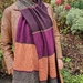 Very long merino scarf.