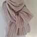 Lace scarf  Cashmere Silk Merino