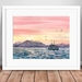 Cruise during the sunset Watercolour original painting