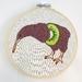 Kiwifruit Kiwi Hand Embroidery