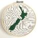 New Zealand Embroidery Hoop