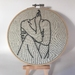'Close To My Heart' Embroidery Hoop