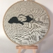 'Just Resting' Embroidery Hoop