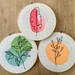 Plant Trio Large Embroidery Set