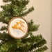 'Christmas Reindeer' Embroidery Hoop- Christmas Decoration