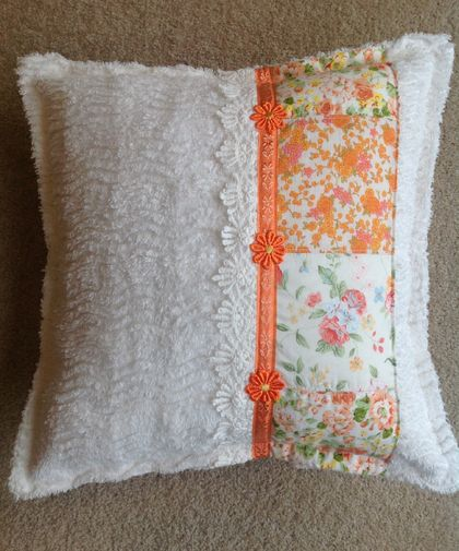 Vintage Candlewick Cushion