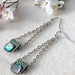 Paua Charm Earrings