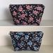 Japanese Wagara Printed Fabric Pouch