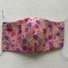 Kids 3D Face Mask - Pink Floral
