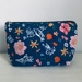 Garden Fabric Zipper Pouch