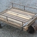 Rustic TROLLEY-TABLE