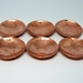 Custom made set of copper dishes