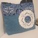 Handbag with doily detail